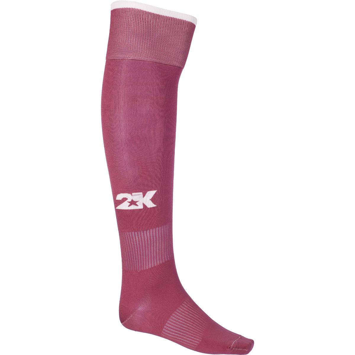 Гетры футбольные 2K Sport Classic, цвет: вишневый, белый. 120334. Размер 41/46120334_cherry-red/whiteКлассические футбольные гетры выполнены из высококачественного материала. Оформлены логотипом бренда.