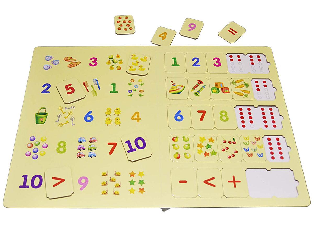 Робинс Обучающая игра Умные пазлы Цифры и счет Робинс