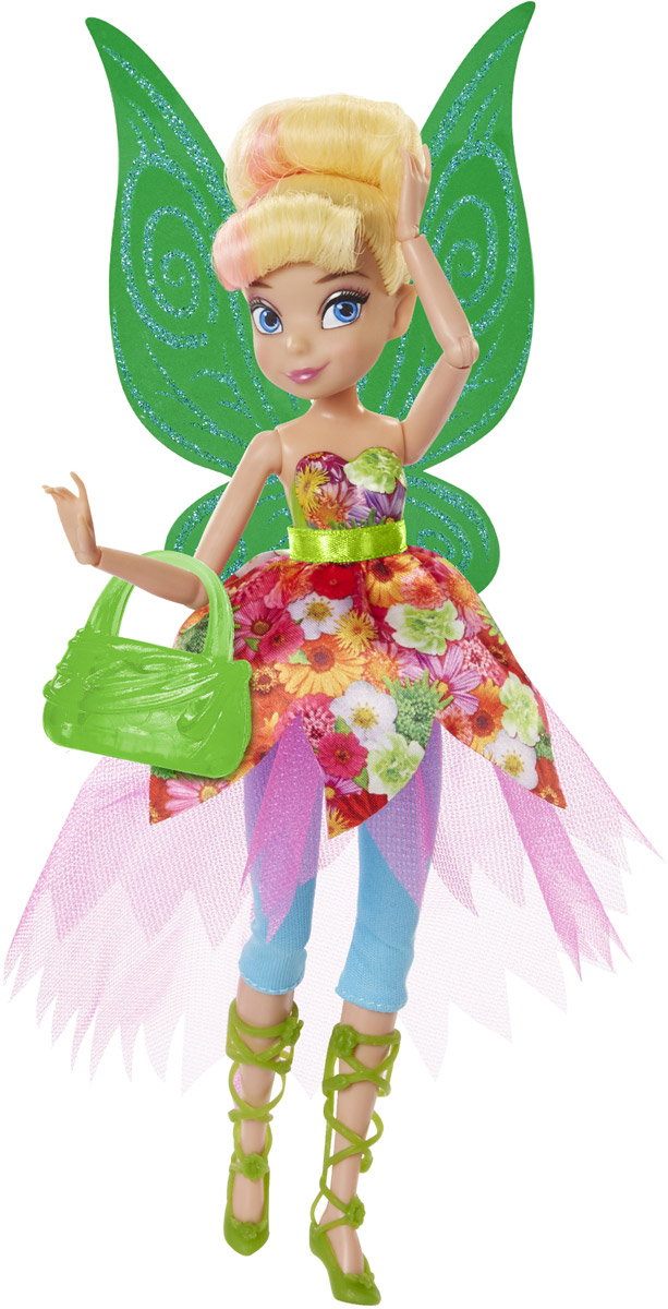 Disney Fairies Кукла Pixie Prints Фея Динь-Динь фигурки disney showcase фигурка фея динь дилинь