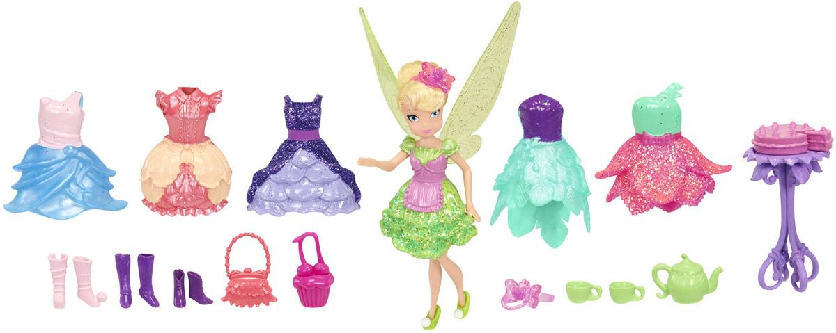 Disney Fairies Игровой набор с мини-куклой Фея Динь-Динь