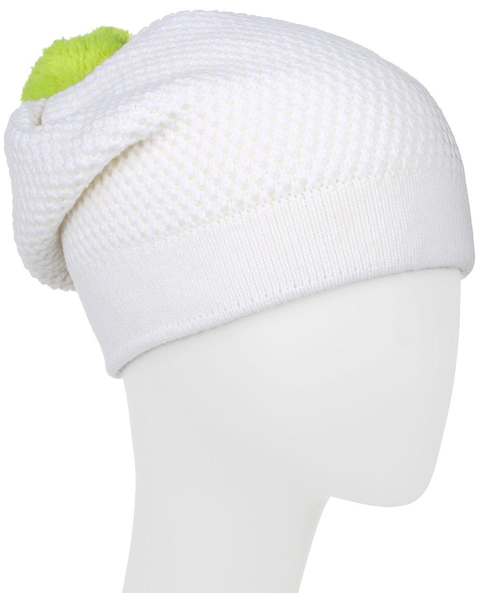 Шапка мужская Marhatter, цвет: белый. MYH6141/6. Размер 57/59MYH6141/6Теплая мужская шапка Marhatter отлично дополнит ваш образ в холодную погоду. Сочетание шерсти и акрила максимально сохраняет тепло и обеспечивает удобную посадку. Подкладка выполнена из высококачественного полиэстера. Удлиненная шапка оформлена оригинальной вязкой и дополнена на макушке небольшим помпоном. Уважаемые клиенты!Размер, доступный для заказа, является обхватом головы.