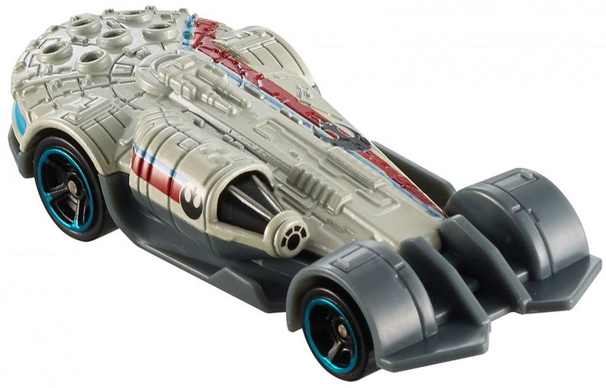 Hot Wheels Star Wars Машинка Millennium Falcon коробки для хранения hot wheels портативный кейс для хранения 18 машинок hot wheels цвет зеленый