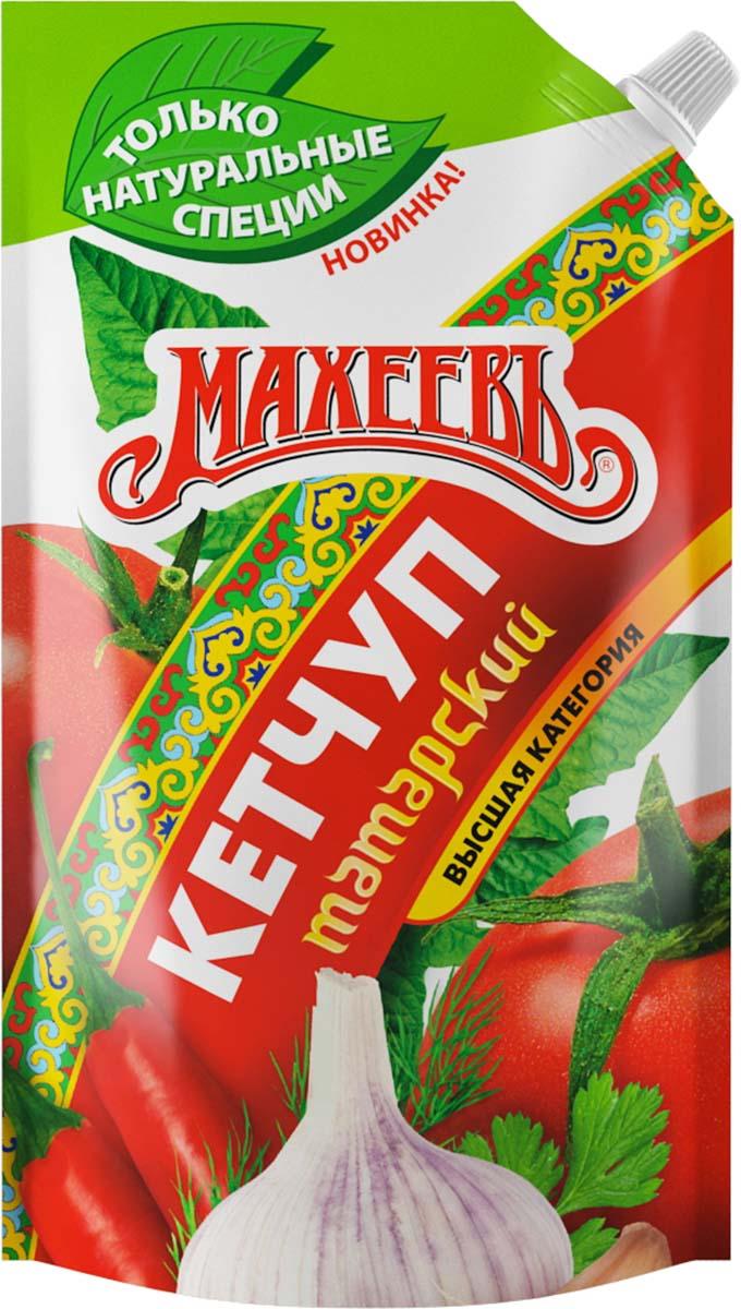 Махеевъ кетчуп татарский, 500 г4604248008536Татарский характеризуется богатством натуральных специй и ароматом степных трав.