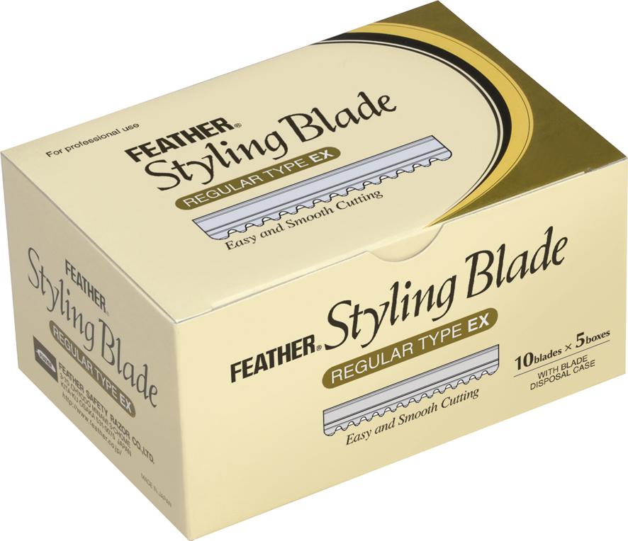 Feather Филировочные лезвия CGEX-10 стандартные, 10 штукS2795925-1Специальные лезвия для филировочных бритв для стрижки волос. Благодаря тонкому наклонному срезу, который дает бритва, концы волос отлично падают по форме стрижки, создается красивая текстура. Используются при работе с бритвами для стрижки волос серии Styling Razor.