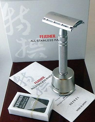 Feather Коллекционная бритва AS-D2S с подставкой - Бритье и депиляция