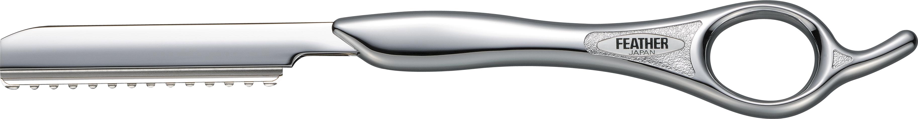 Feather Классическая филировочная бритва SR-S серебристаяS4250811Серия Styling Razor - это любимые бритвы для стрижки волос среди парикмахеров по всему миру. Благодаря тонкому наклонному срезу, который дает бритва, концы волос отлично падают по форме стрижки, создавая красивую текстуру.Для получения оптимального угла кромки каждое лезвие проходит тройную заточку. Лезвия не только остры, но и долговечны, благодаря своему двойному покрытию из платинового сплава и каучука. Платиновый сплав увеличивает долговечность лезвия, а каучуковое покрытие снижает трение.