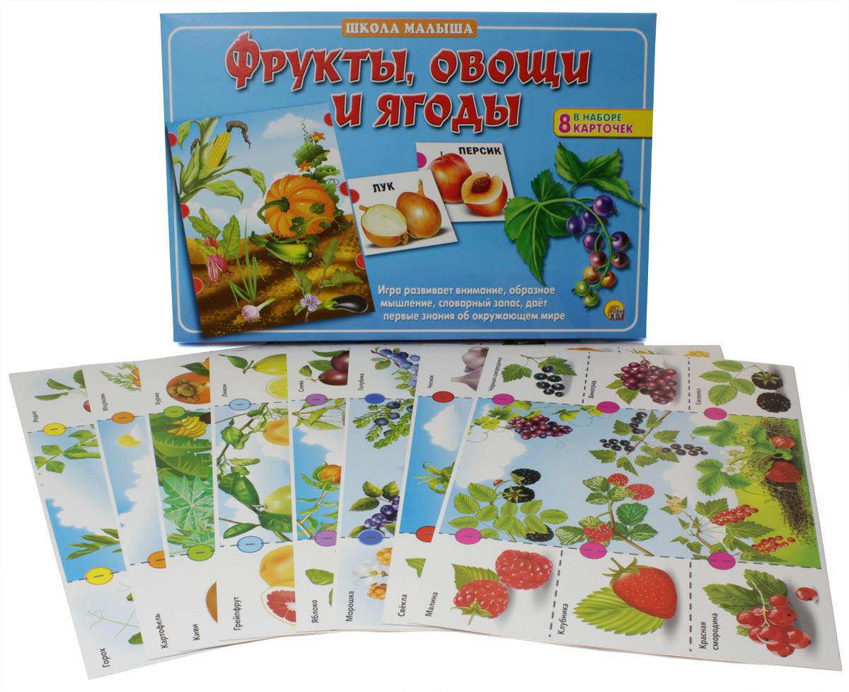 Рыжий Кот Настольная игра Фрукты, овощи и ягоды рыжий кот обучающие карточки грибы и ягоды