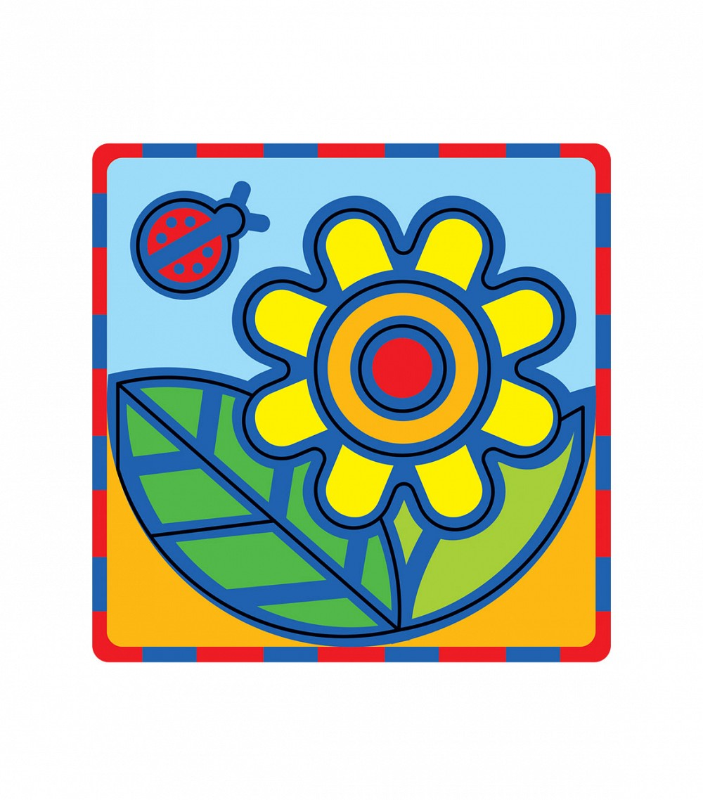 Умная бумага Мягкий конструктор Цветок