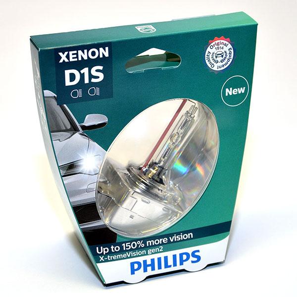 Лампа автомобильная ксеноновая Philips X-tremeVision gen2, цоколь D1S, 85 Вт85415 XV2S1X-tremeVision gen2 — последняя разработка в области ксеноновых ламп. Световое излучение этой лампы доведено до предела, и она обеспечивает самый мощный луч. Это позволяет получить исключительные характеристики освещения и уникальную организацию света для оптимального комфорта вождения. ? Оптимальные характеристики освещения? Улучшение видимости до 150%*? Максимальная безопасность и видимость? Предназначены для взыскательных водителей