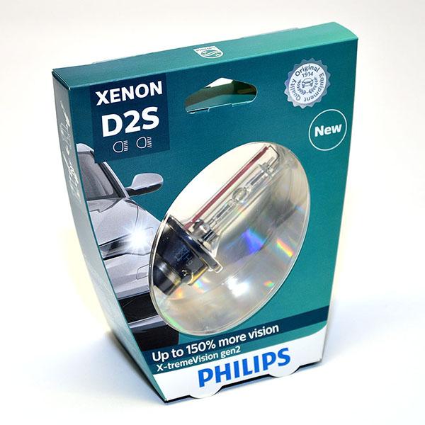 Лампа автомобильная ксеноновая Philips X-tremeVision gen2, цоколь D2S, 85 Вт85122 XV2S1Автомобильная лампа Philips X-tremeVision gen2 - последняя разработка в области ксеноновых ламп. Световое излучение этой лампы доведено до предела, и она обеспечивает самый мощный луч. Это позволяет получить исключительные характеристики освещения и уникальную организацию света для оптимального комфорта вождения. Особенности:- оптимальные характеристики освещения,- улучшение видимости до 150%,- максимальная безопасность и видимость,- предназначены для взыскательных водителей.