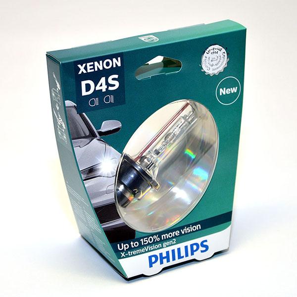 Лампа автомобильная ксеноновая Philips WhiteVision gen2, цоколь D4S, 85 Вт. 42402 XV2S142402 XV2S1? Мощный равномерный яркий белый свет ? Идеально сочетается со светодиодным освещением вашей машины? Белый свет до 5000K на дороге? Улучшение видимости на 120%*? Лампа, разрешенная для использования на дорогах общего пользованияС лампами Philips Xenon WhiteVision gen2 машина становится более заметной, а освещение дороги более ярким и равномерным. Xenon WhiteVision gen2 — идеальный выбор, если вы хотите сочетать ксенон со светодиодным освещением автомобиля.