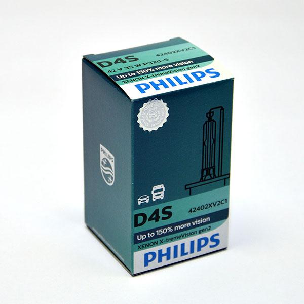 Лампа автомобильная ксеноновая Philips WhiteVision gen2, цоколь D4S, 85 Вт42402 XV2C1Автомобильная лампа Philips WhiteVision gen2 - последняя разработка в области ксеноновых ламп. Световое излучение этой лампы доведено до предела, и она обеспечивает самый мощный луч. Это позволяет получить исключительные характеристики освещения и уникальную организацию света для оптимального комфорта вождения. Особенности:- идеально сочетается со светодиодным освещением вашей машины,- улучшение видимости до 120%,- белый свет до 5000K на дороге,- предназначены для взыскательных водителей.