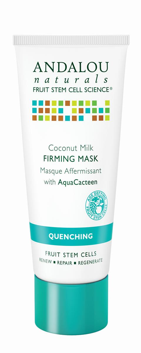 ANDALOU Маска для лица с экстрактами кактуса Коллекция Кокосовая,53 мл25640Для обезвоженной, раздражённой, воспалённой кожи. В составе богатой питательными веществами маске кокосовое молочко, аминокислоты, незаменимые жирные кислоты. Маска увлажняет, укрепляет и смягчает кожу, улучшает внешний вид и текстуру кожи.AquaCacteen, полученный из Опунции (семейство кактусовых), питает и успокаивает, насыщает кожу необходимыми аминокислотами, белками, витаминами и минералами, чтобы поддерживать здоровый рост клеток. Обладает уникальными водосвязывающими свойствами, удерживает питательные вещества. За счёт этого обеспечивается длительное увлажнение, кожа становится подтянутой и эластичной. Ингредиент сертифицирован ECOCERT.