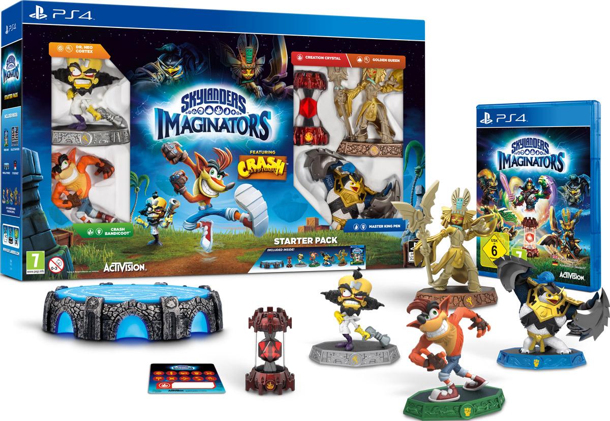 Skylanders Imaginators. Стартовый набор Crash Edition (PS4) skylanders spyro s adventure стартовый набор