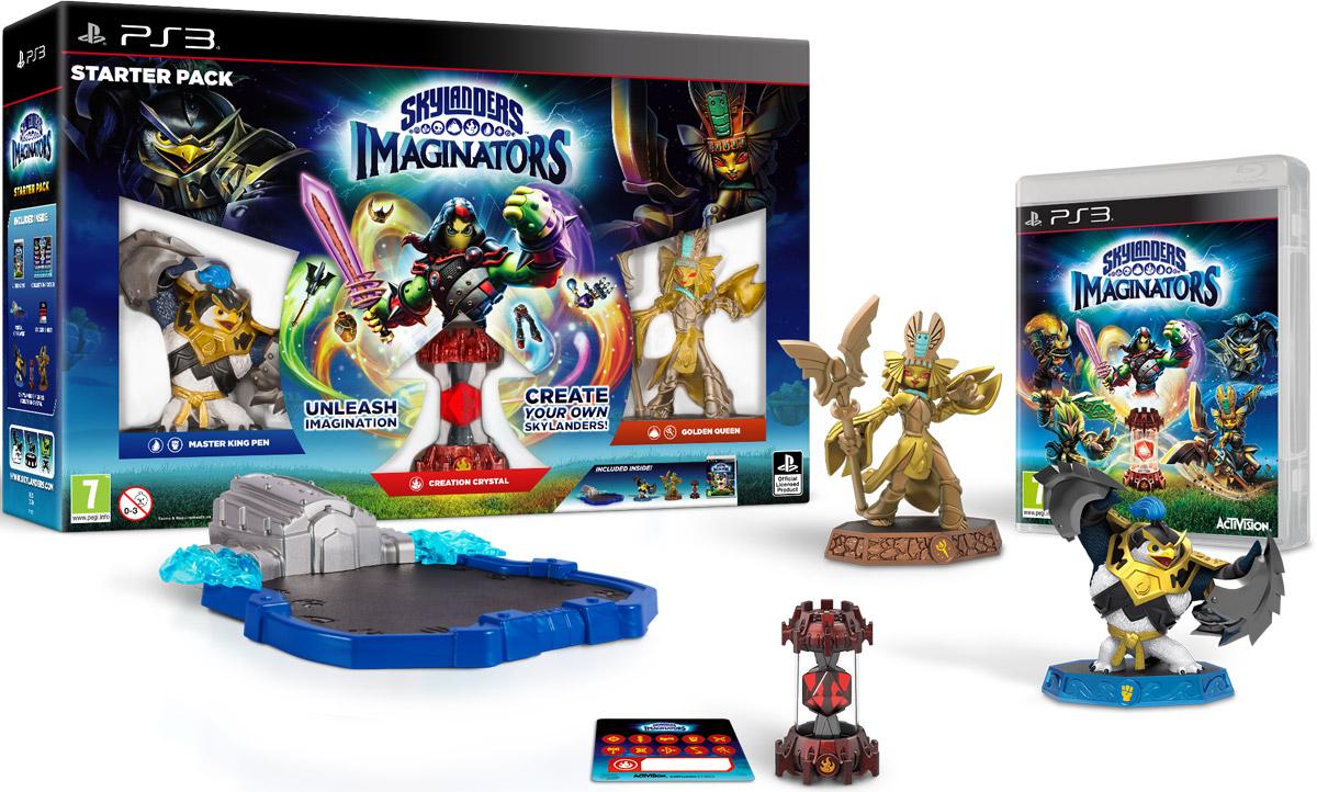 Skylanders Imaginators. Стартовый набор (PS3) skylanders spyro s adventure стартовый набор