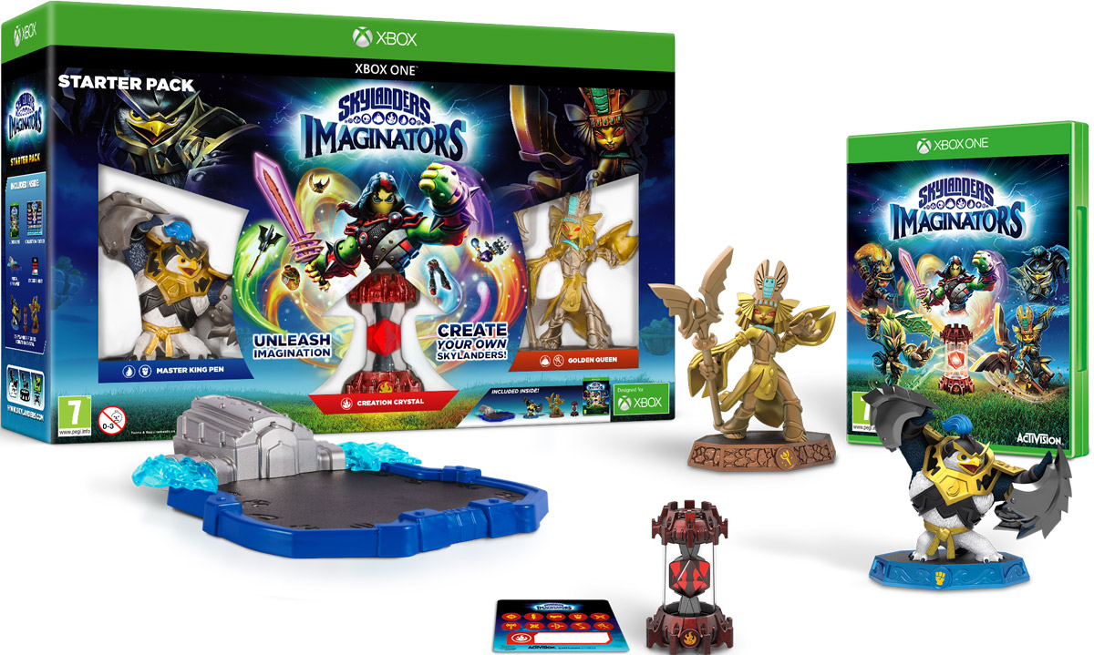 Skylanders Imaginators. Стартовый набор (Xbox One) skylanders imaginators набор из 8 кристаллов стихии tech life undead earth water light magic dark