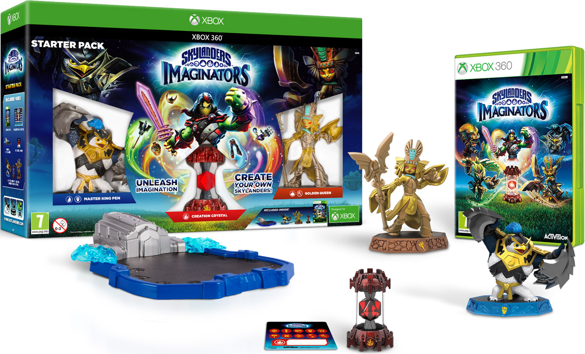Skylanders Imaginators. Стартовый набор (Xbox 360) skylanders imaginators набор из 8 кристаллов стихии tech life undead earth water light magic dark