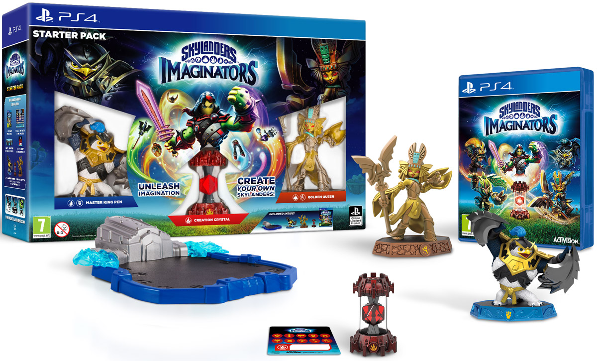 Skylanders Imaginators. Стартовый набор (PS4) skylanders imaginators набор из 8 кристаллов стихии tech life undead earth water light magic dark