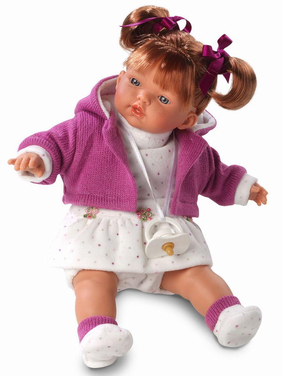 Llorens Кукла Алиса 33 см куклы и одежда для кукол llorens кукла алиса 33 см со звуком