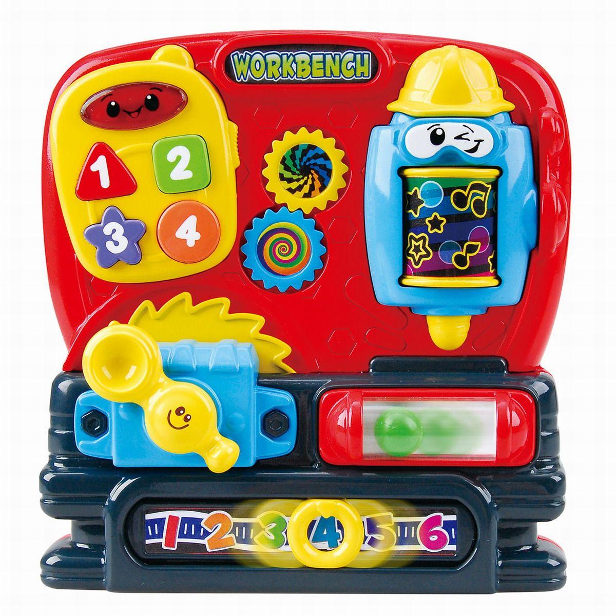 Playgo Развивающая игрушка Мастерская сортеры playgo развивающая игрушка самолет сортер