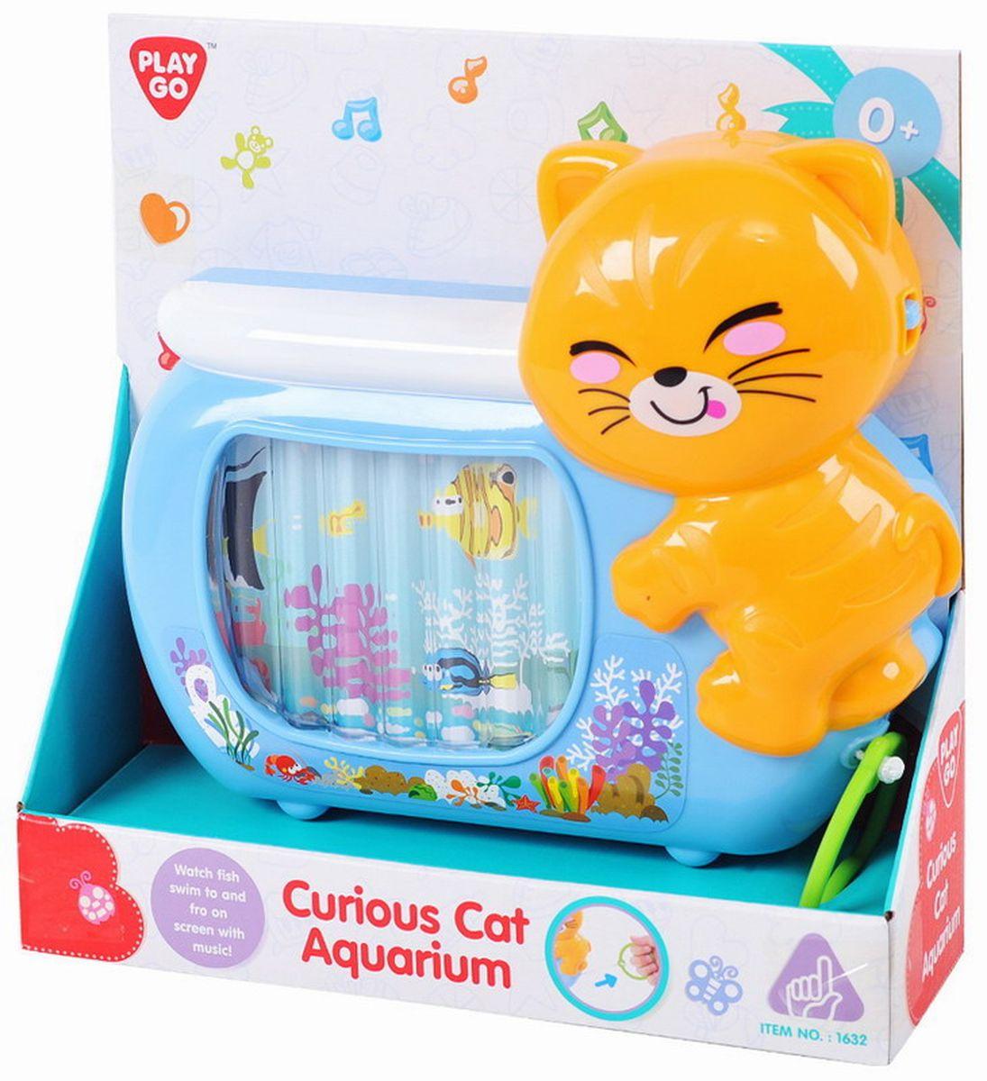 Playgo Развивающая игрушка Аквариум с кошкой недорого