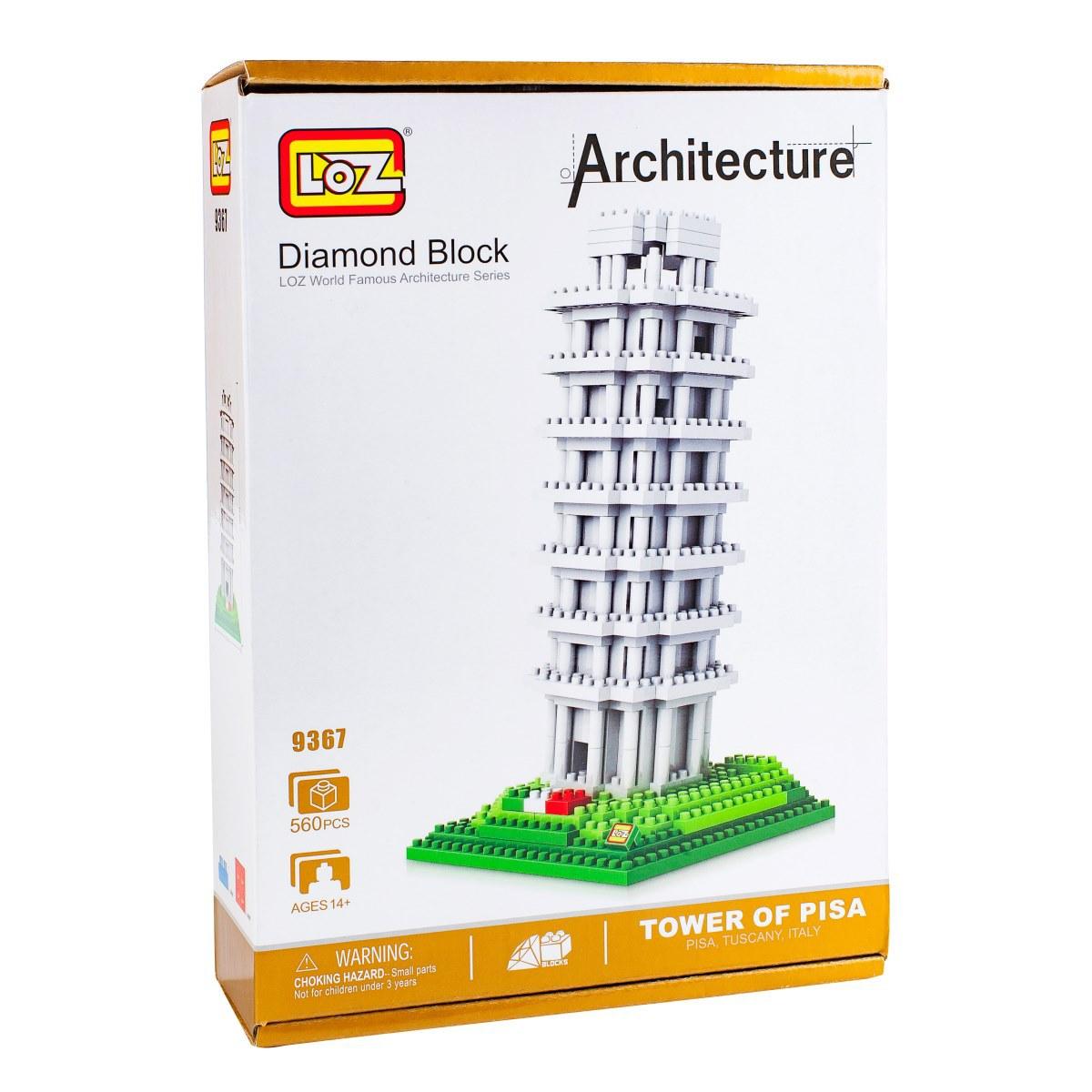 Loz Конструктор-макет Пизанская башня джанни родари пришельцы и пизанская башня