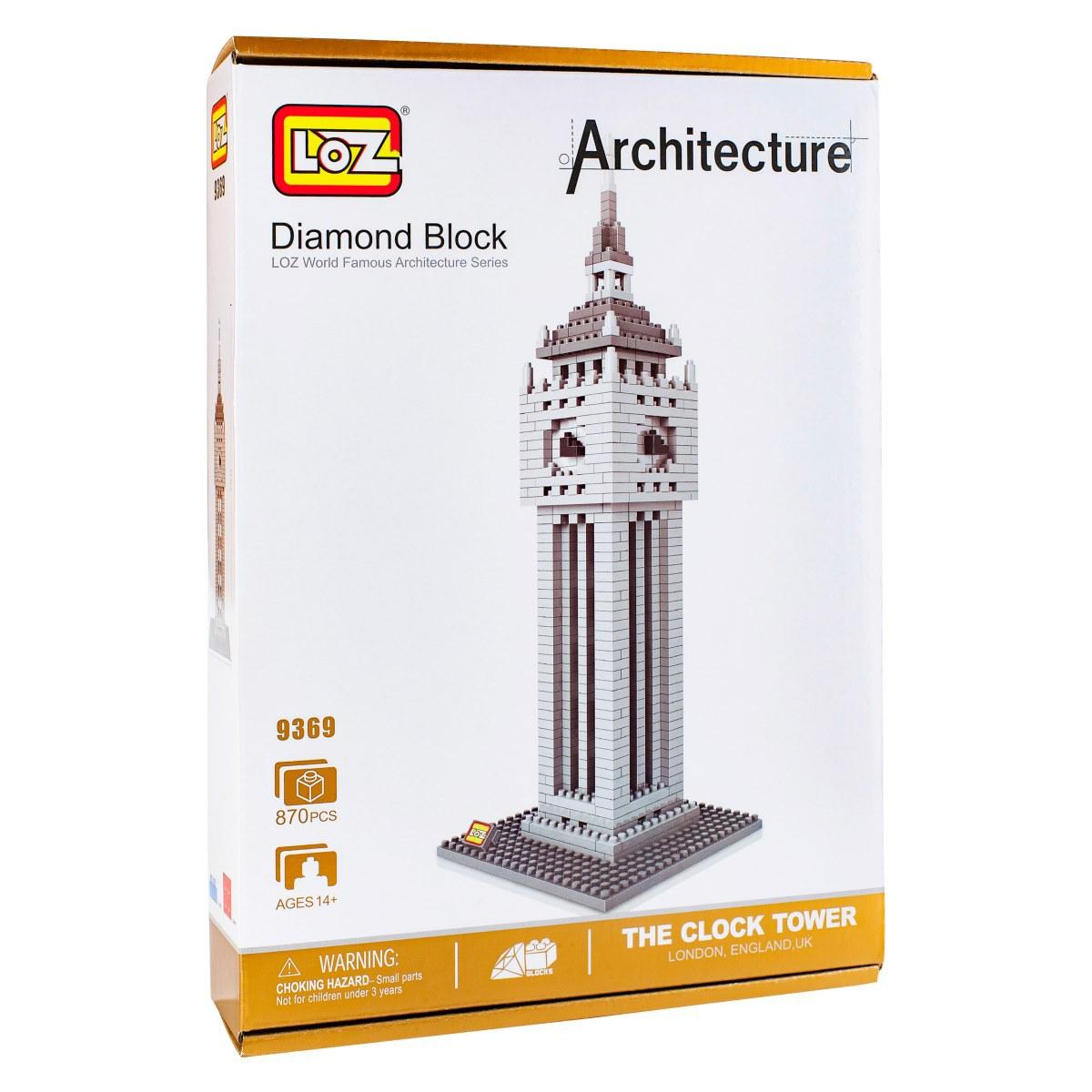 Loz Конструктор-макет Башня Биг Бен конструктор башня биг бен loz