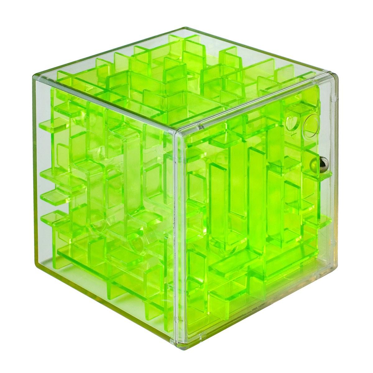 Labirintus Головоломка Куб цвет зеленый 6 см