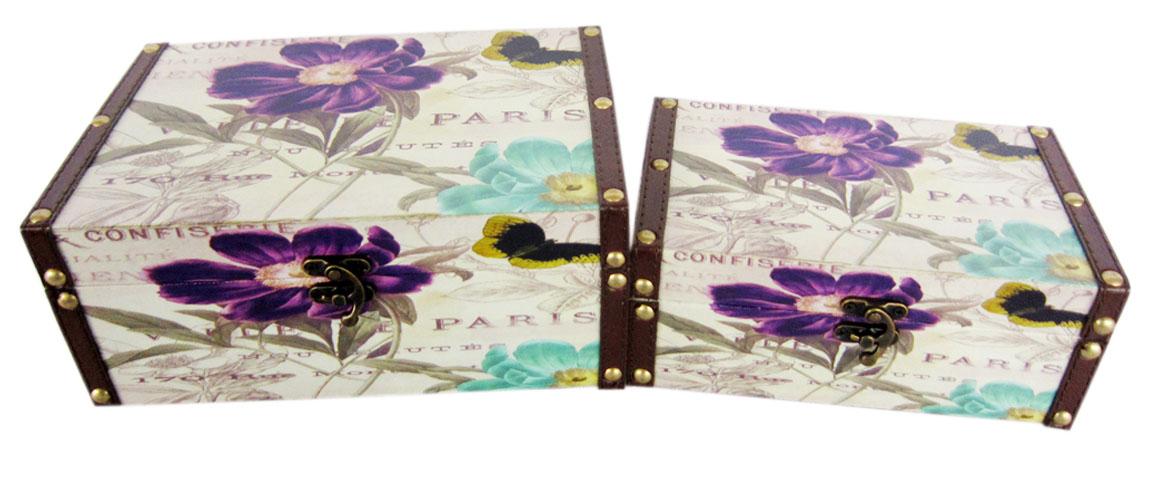 Набор шкатулок для рукоделия Весна в Париже, 24х16х10 см, 20х12х8 см. TL47747715149