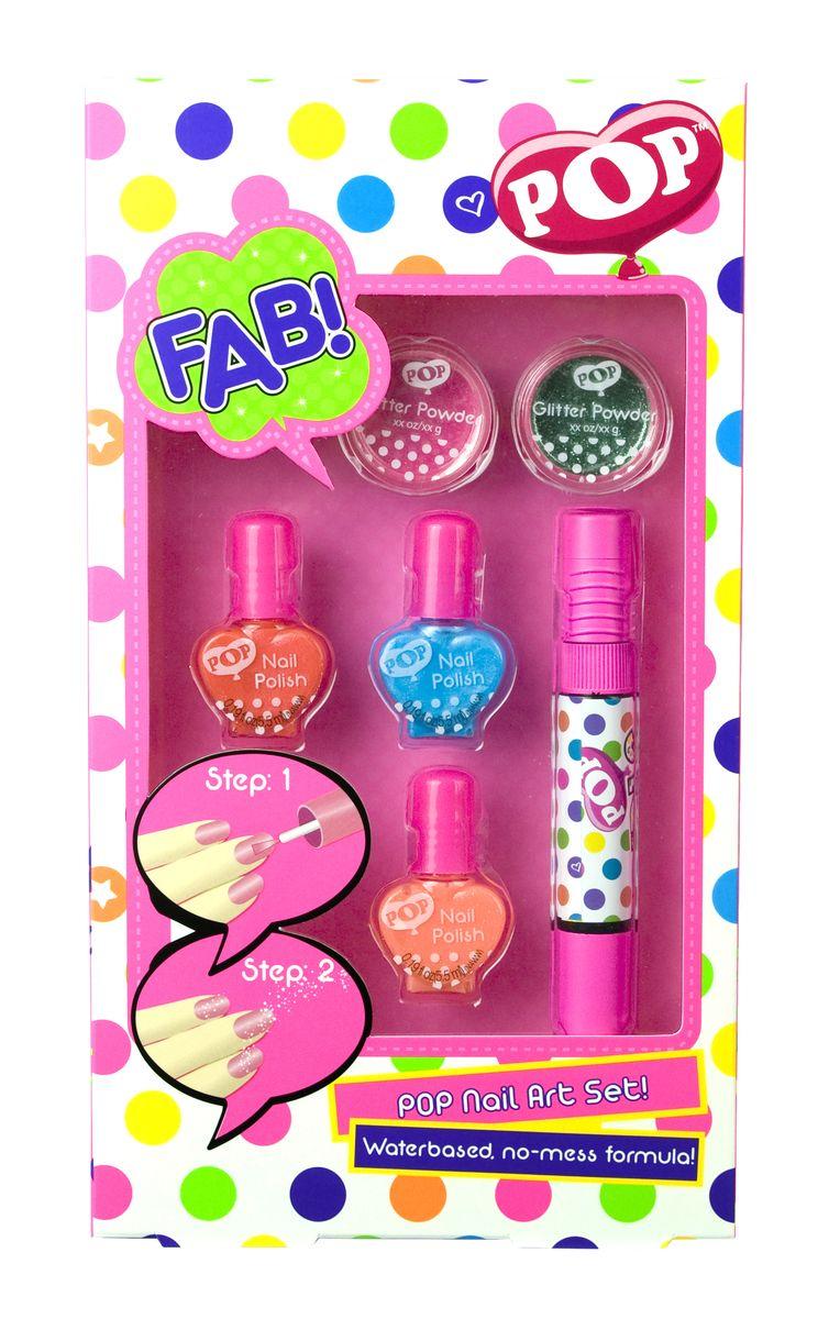 Markwins Игровой набор детской декоративной косметики для ногтей POP