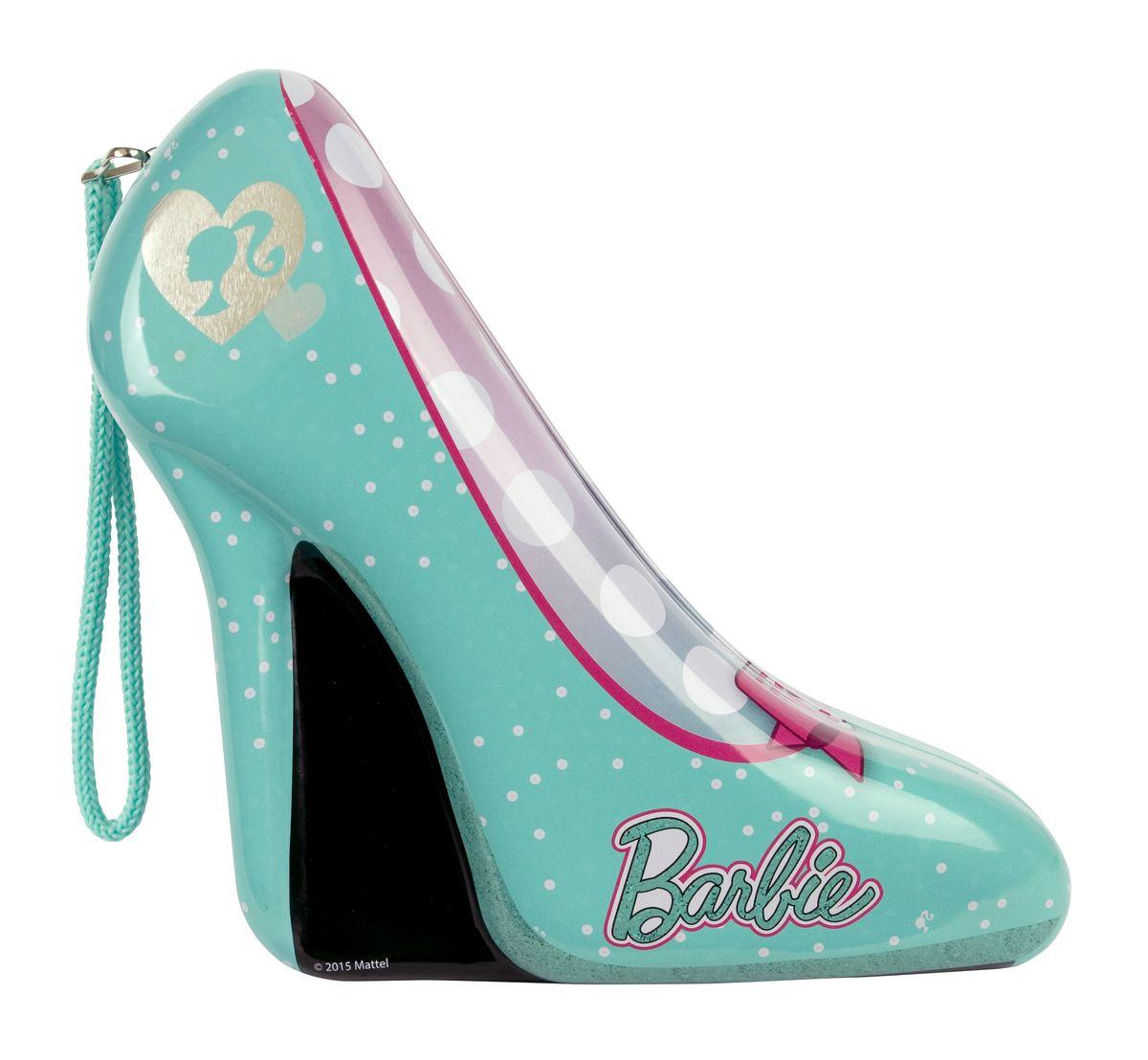 Markwins Игровой набор детской декоративной косметики Barbie в туфельке цвет зеленый детская косметика