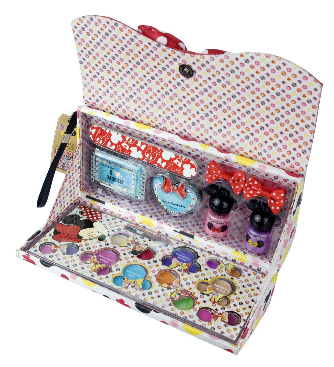 Markwins Игровой набор детской декоративной косметики Minnie в клатче косметика от эссенс