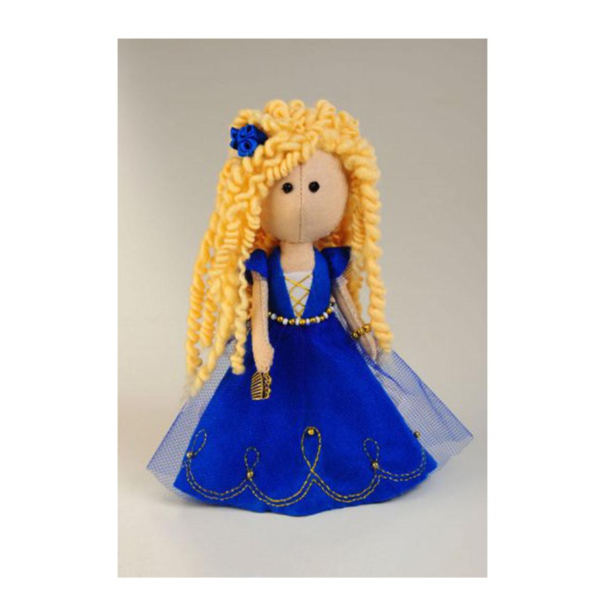 Набор для изготовления игрушки Перловка Златовласка, высота 17 см набор для создания игрушки перловка слоненок фантик высота 19 см