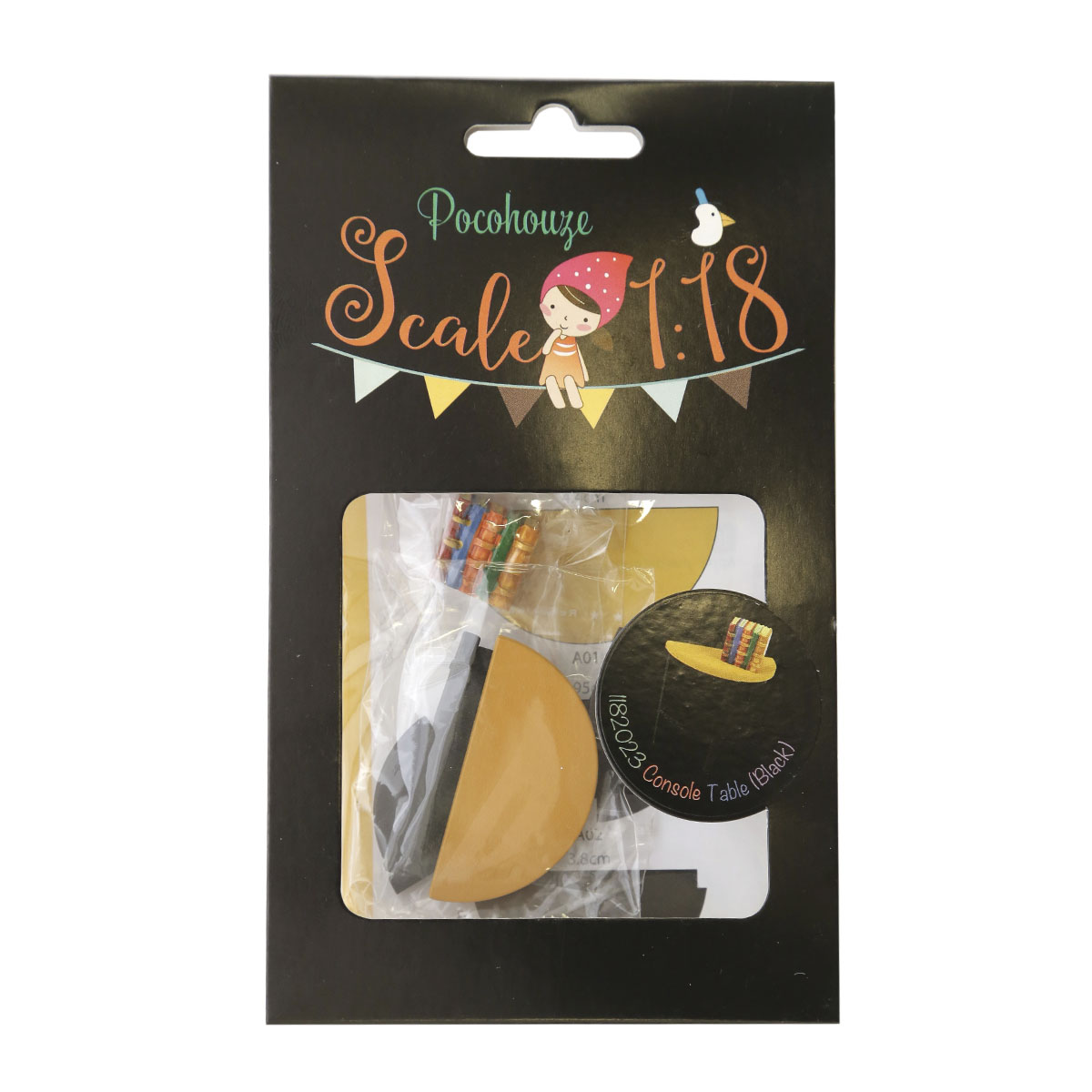 Набор для изготовления миниатюры Pocohouse Столик. 1182023 купить аксессуары для изготовления постижерных изделий