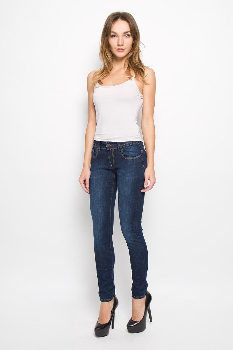 Джинсы женские F5, цвет: темно-синий. 265054_19734. Размер 31-34 (46/48-34) джинсы женские f5 цвет синий 19202 размер 31 34 46 48 34