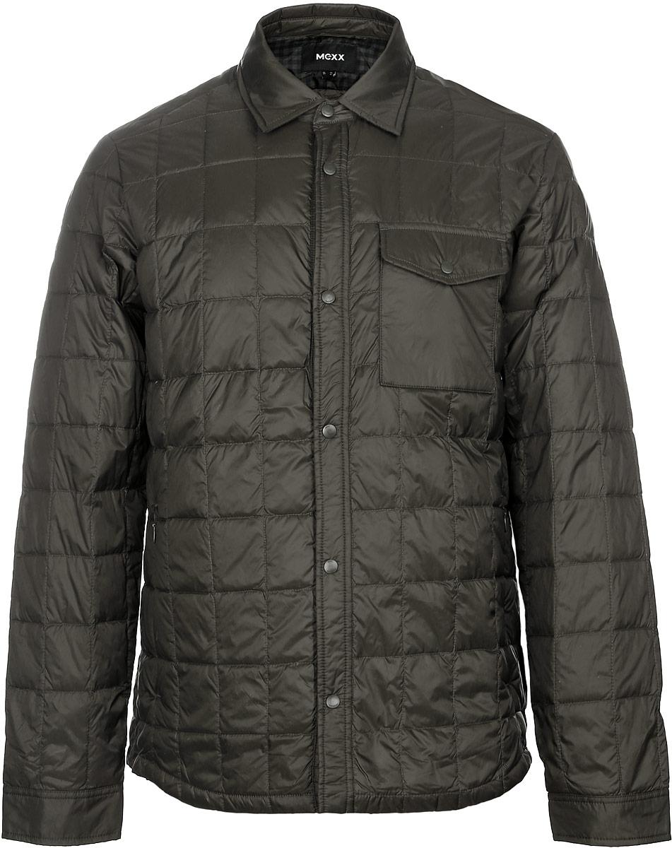 Куртка мужская Mexx, цвет: зеленый. MX3024692_MN_JCK_008. Размер XL (54) куртка антимоскитная norfin цвет милитари 6020 размер xl 54 56