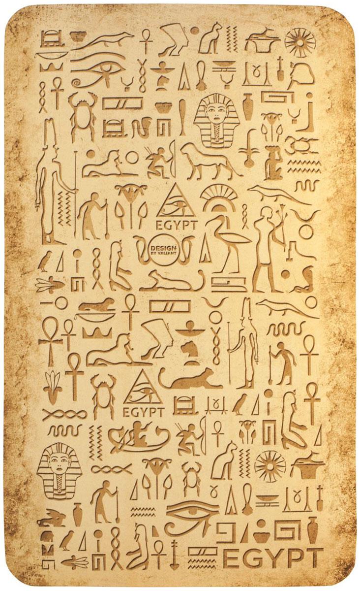 Коврик для ванной комнаты Valiant Egypt Symbols, 75 х 45 см