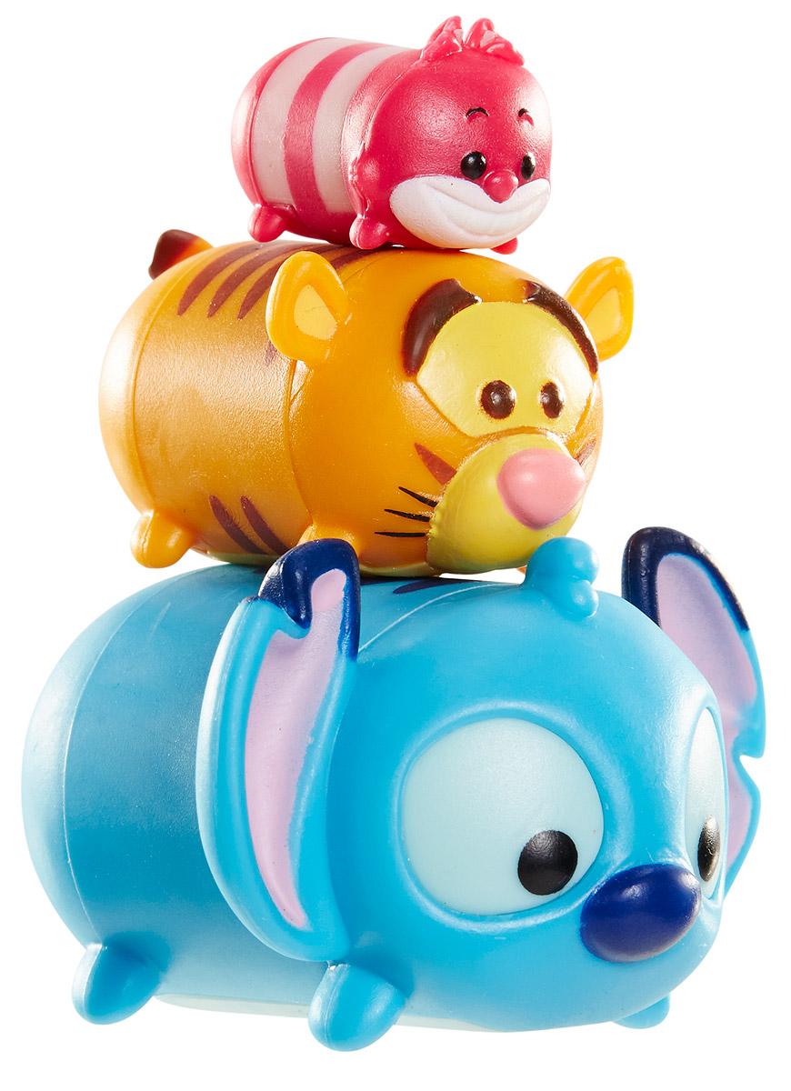 Tsum Tsum Набор фигурок Чеширский Кот Тигруля Стич new in box tsum tsum stack n play toy shop original