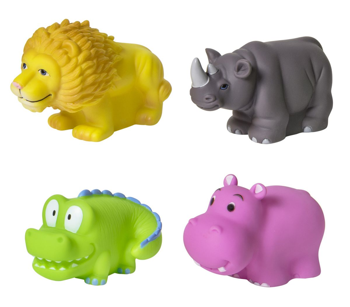 Курносики Набор игрушек для ванной Африка 4 шт грабли 42 х 8 х 9 5 см