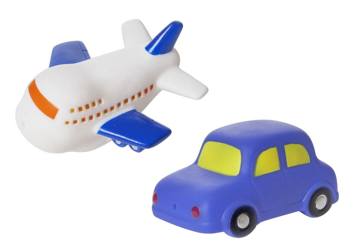 Курносики Набор игрушек для ванной Машинка и самолет играем вместе набор игрушек для ванной корабль и самолет