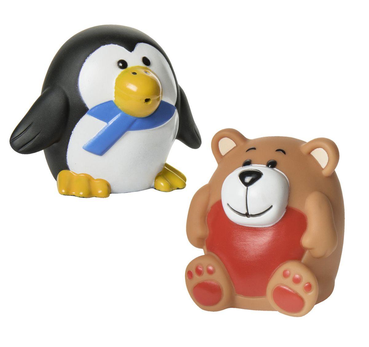 Курносики Набор игрушек для ванной Зоопарк 2 шт игрушки для ванной пома набор игрушек лесной домик