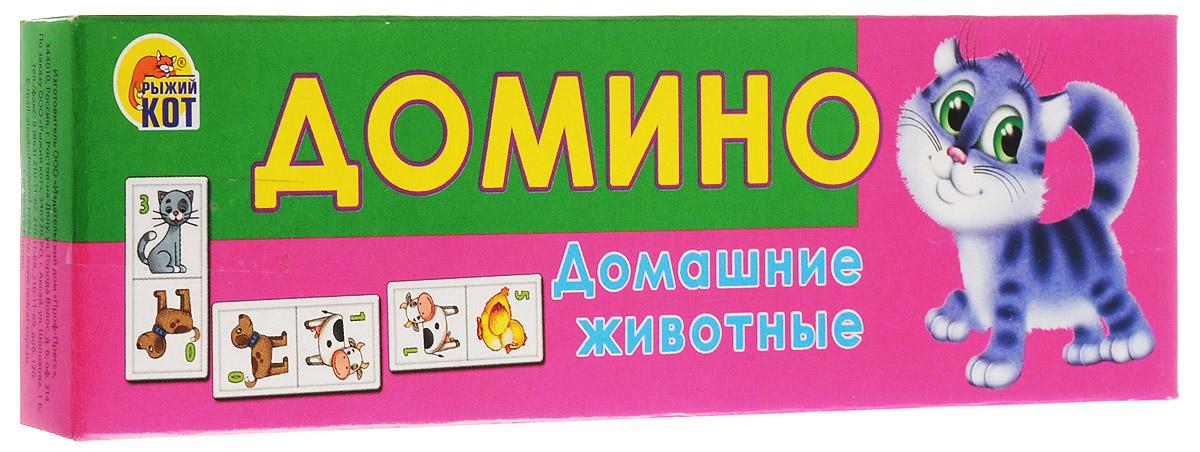 Рыжий Кот Домино Домашние животные рыжий кот обучающие карточки грибы и ягоды