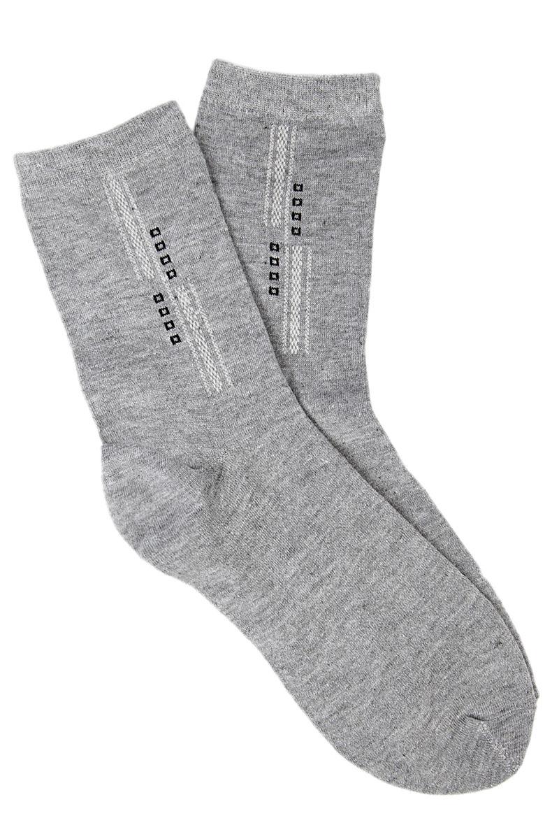 Носки мужские Соксы, цвет: серый. 010. Размер 39/43010Носки Соксы изготовлены из полиэстера с добавлением эластана, комфортных при носке. Эластичная резинка плотно облегает ногу, не сдавливая ее, обеспечивая комфорт и удобство.