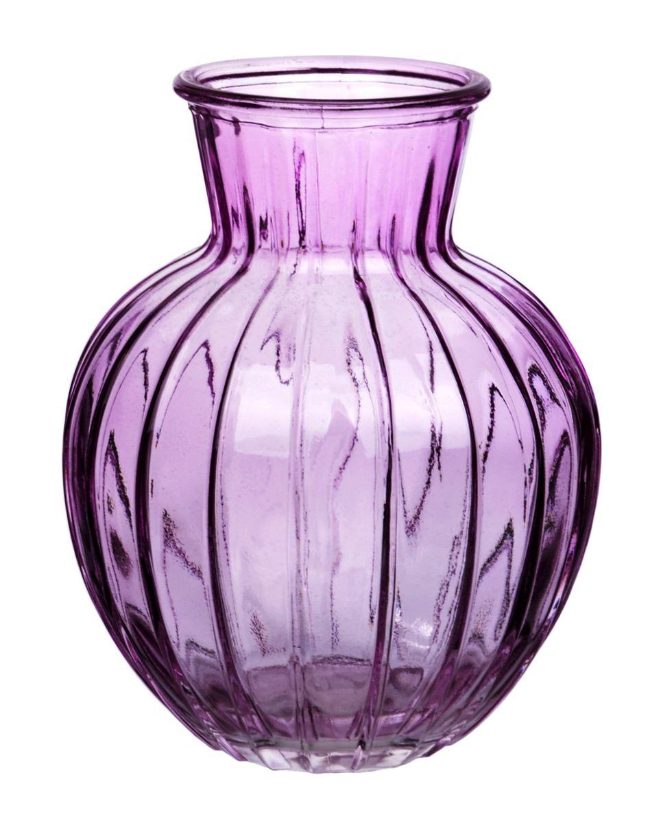 Ваза Nina Glass Белла, цвет: сиреневый, высота 19,5 смNG92-001M_сиреневыйВаза Nina Glass Белла выполнена из высококачественногостекла и имеет изысканный внешний вид. Такая ваза станет ярким украшением интерьера и прекрасным подарком к любому случаю. Не рекомендуется мыть в посудомоечной машине.Высота вазы: 19,5 см.