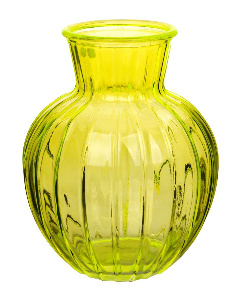 Ваза Nina Glass Белла, цвет: желтый, высота 19,5 смNG92-001M_желтыйВаза Nina Glass Белла выполнена из высококачественногостекла и имеет изысканный внешний вид. Такая ваза станет ярким украшением интерьера и прекрасным подарком к любому случаю. Не рекомендуется мыть в посудомоечной машине.Высота вазы: 19,5 см.