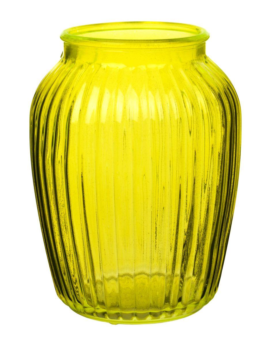 Ваза Nina Glass Луана, цвет: желтый, высота 19,5 смNG92-021M_желтыйВаза Nina Glass Луана выполнена из высококачественногостекла и имеет изысканный внешний вид. Такая ваза станет ярким украшением интерьера и прекрасным подарком к любому случаю. Не рекомендуется мыть в посудомоечной машине.Высота вазы: 19,5 см.