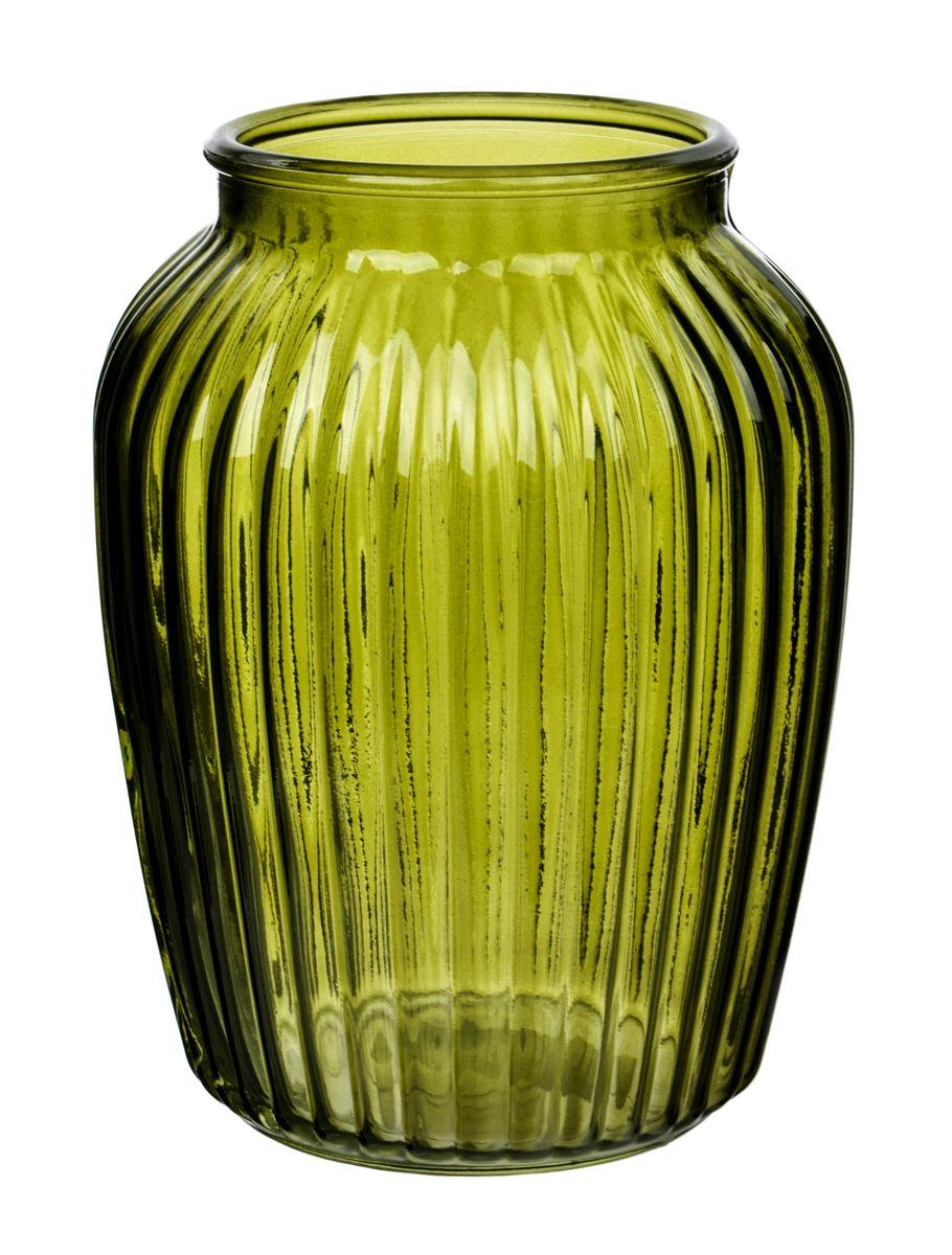 Ваза Nina Glass Луана, цвет: зеленый, высота 19,5 смNG92-021M_зеленыйВаза Nina Glass Луана выполнена из высококачественногостекла и имеет изысканный внешний вид. Такая ваза станет ярким украшением интерьера и прекрасным подарком к любому случаю. Не рекомендуется мыть в посудомоечной машине.Высота вазы: 19,5 см.Диаметр по верхнему краю: 10,5 см.