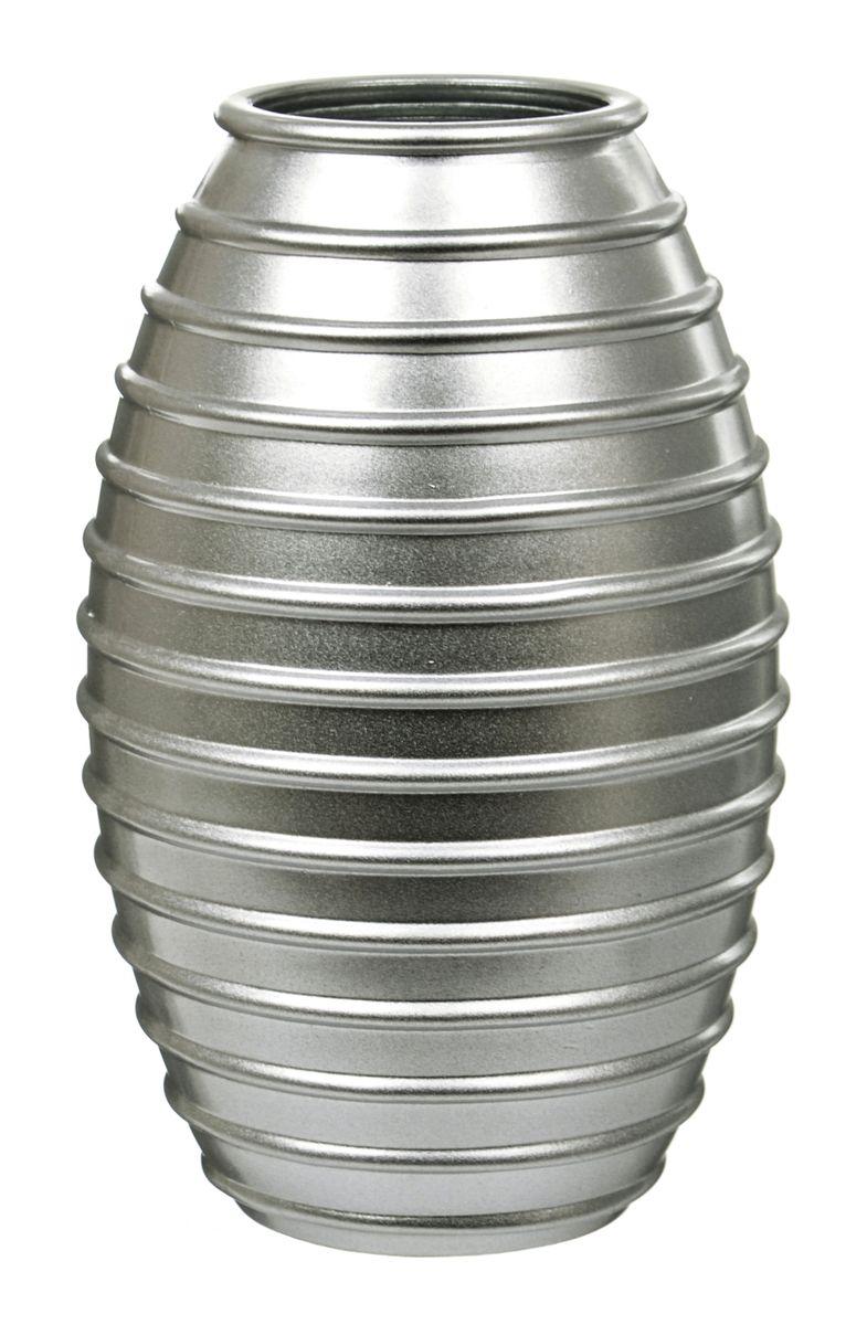 Ваза Nina Glass Лайт, цвет: серебряный металлик, высота 19,5 смNG92-002_серебряный металликВаза Nina Glass Лайт выполнена из высококачественногостекла и имеет изысканный внешний вид. Такая ваза станет ярким украшением интерьера и прекрасным подарком к любому случаю. Не рекомендуется мыть в посудомоечной машине.Высота вазы: 19,5 см.