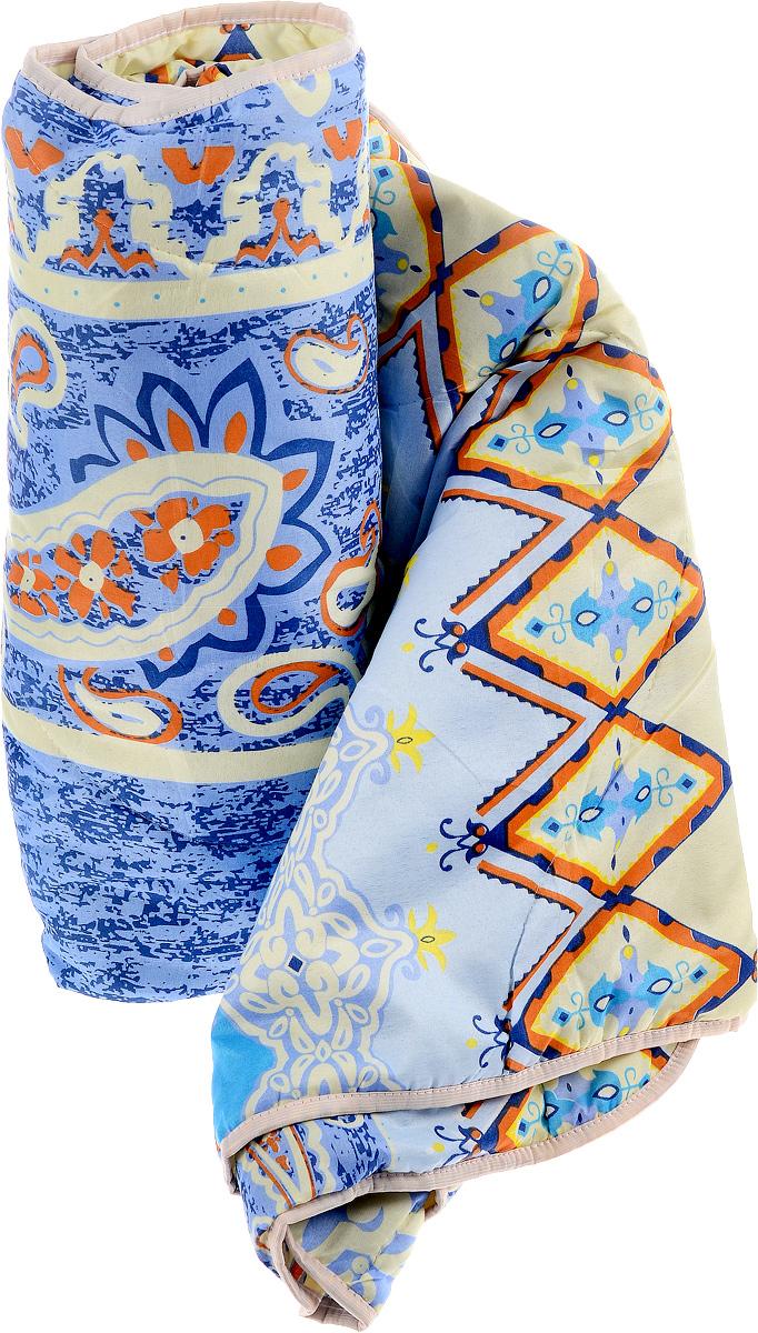 Одеяло летнее OL-Tex Miotex, наполнитель: полиэфирное волокно Holfiteks, цвет: голубой, светло-желтый, оранжевый, 172 х 205 смМХПЭ-18-1Легкое летнее одеяло OL-Tex Miotex создаст комфорт и уют во время сна. Чехол выполнен из полиэстера и оформлен красочным рисунком. Внутри - современный наполнитель из полиэфирного высокосиликонизированного волокна Holfiteks, упругий и качественный. Прекрасно держит тепло. Одеяло с наполнителем Holfiteks легкое и комфортное. Даже после многократных стирок не теряет свою форму, наполнитель не сбивается, так как одеяло простегано и окантовано. Не вызывает аллергии. Holfiteks - это возможность легко ухаживать за своими постельными принадлежностями. Можно стирать в машинке, изделия быстро и полностью высыхают - это обеспечивает гигиену спального места при невысокой цене на продукцию.Плотность: 100 г/м2.Уважаемые клиенты!Товар поставляется в цветовом ассортименте. Отгрузка производится из имеющихся в наличии цветов.