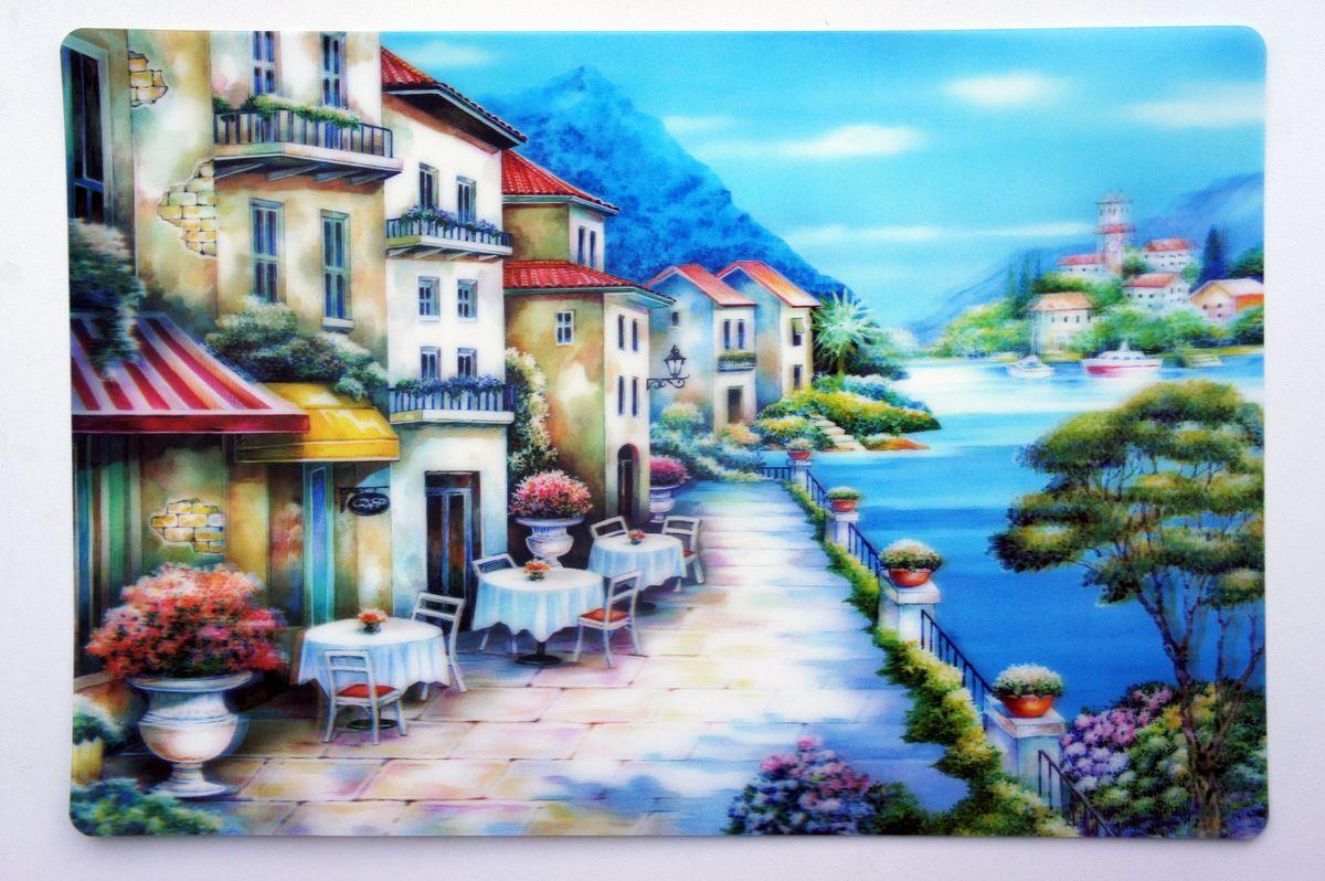 Набор сервировочных салфеток Gift'n'Home Кафе у набережной, 43 х 29 см, 4 шт